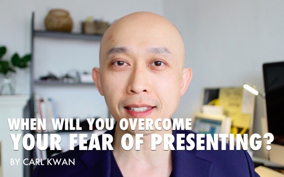 When will you overcome your fear of presenting? [VIDEO]