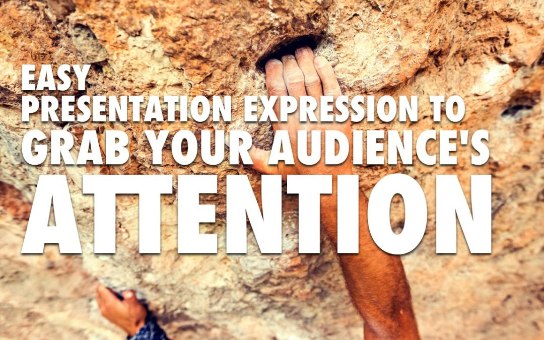 Easy Presentation Expression to Engage Audience [VIDEO]