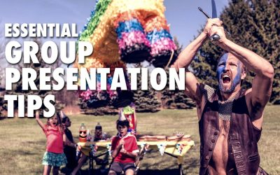 Essential Group Presentation Tips