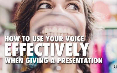 How To Use Your Voice Effectively When Giving a Presentation