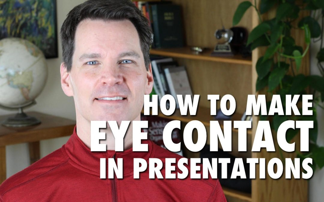 How to Make Eye Contact in Presentations