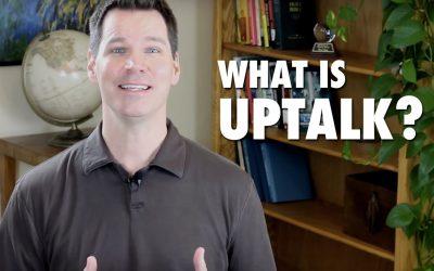 What is Uptalk?