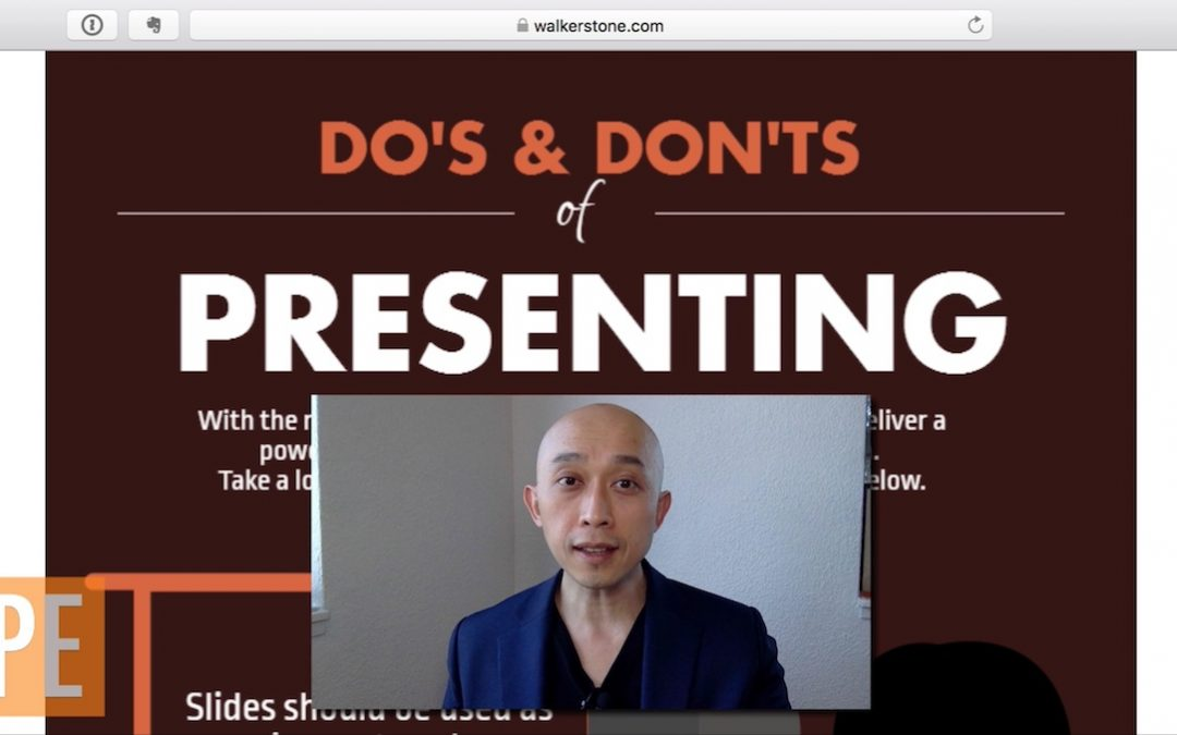 The Dos and Don'ts of Presenting