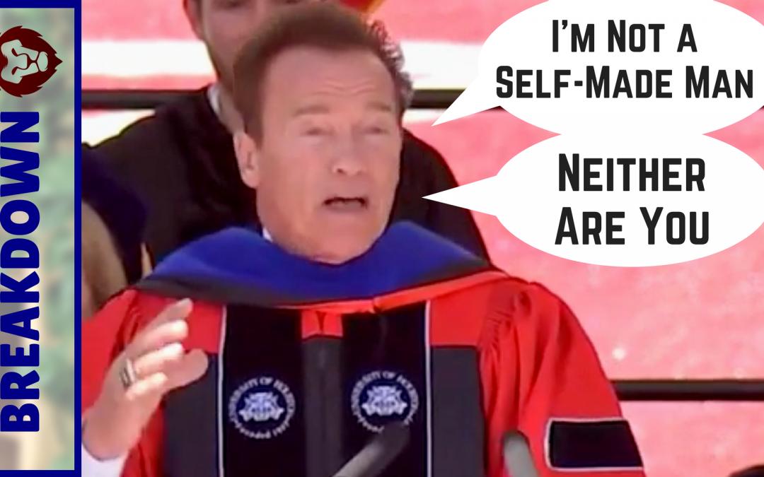 Arnold Schwarzenegger Graduate Speech Breakdown