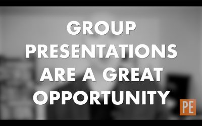 Why Group Presentations are Great Opportunities