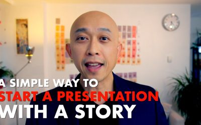 A Simple Way to Start a Presentation With a Story [VIDEO]