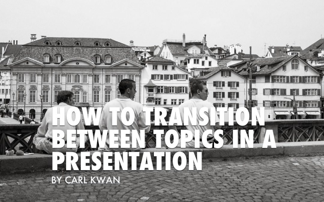 Presentation Expression for How to Transition Between Topics [VIDEO]