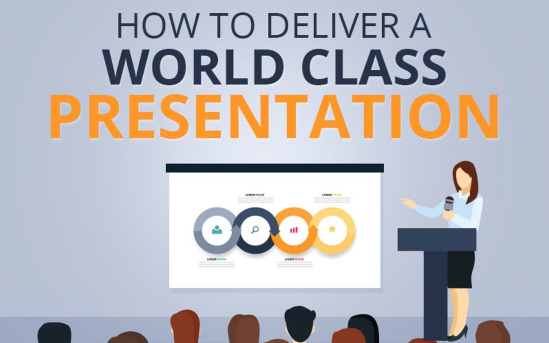How to Deliver a World Class Presentation [INFOGRAPHIC]