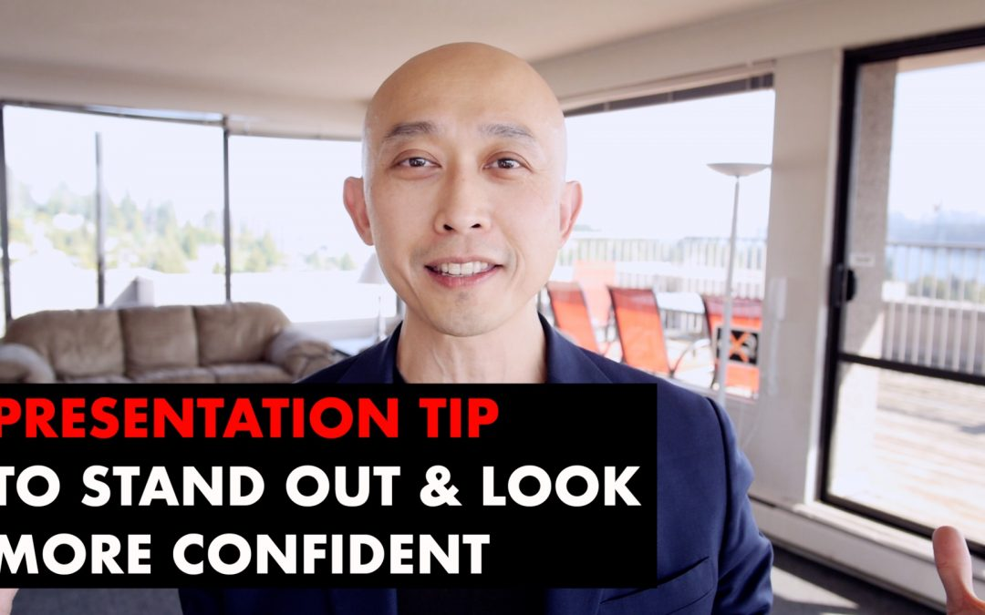 Secret Tip To Stand Out When Giving A Presentation [VIDEO]